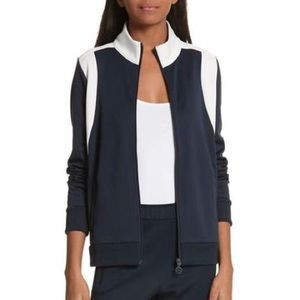 TORY SPORT Blue and white jacket